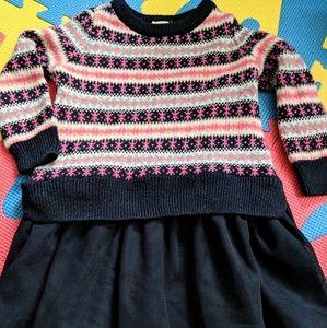 Toddler Girl's Gap Sweater Dress 12-18 months